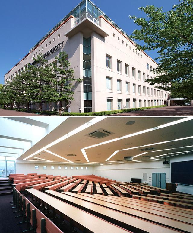 キャンパスマップ | 大学紹介 | 大手前短期大学